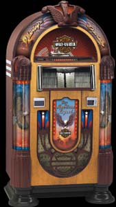 Nostalgic Harley Davidson CD Jukebox
