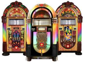 Selection of CD Jukebox by Rock-Ola