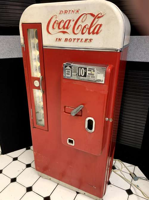 Vendo Model 81-D Coke Machine