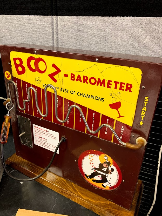 Booze Barometer